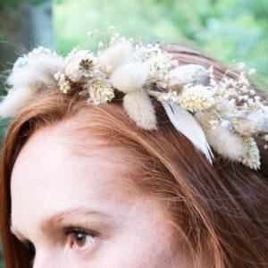 Dry Flower Crown
