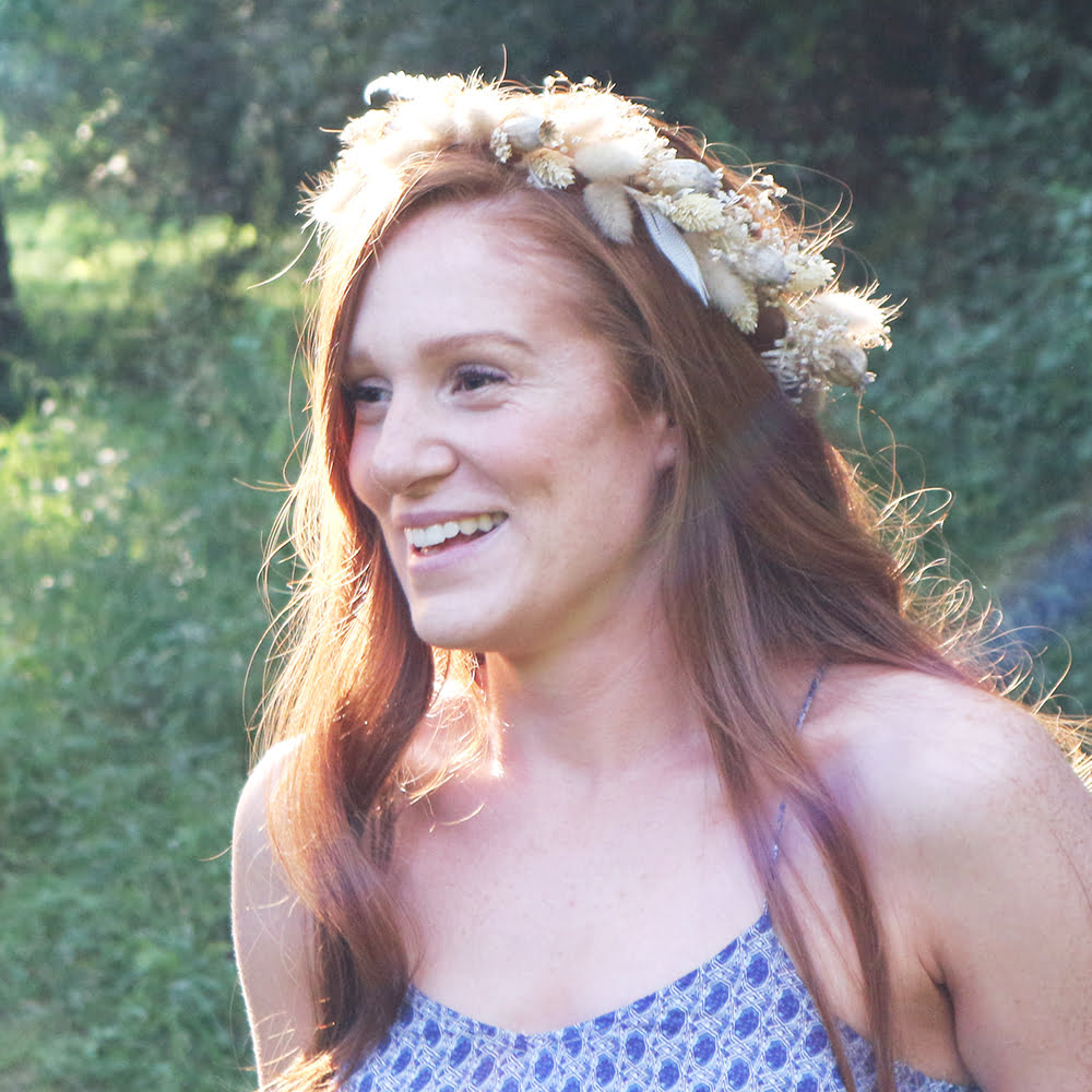 Flower Crown Red Hair
