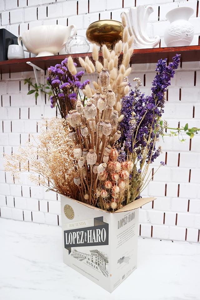 Mary Elizabeth Flowers Dried Flowers