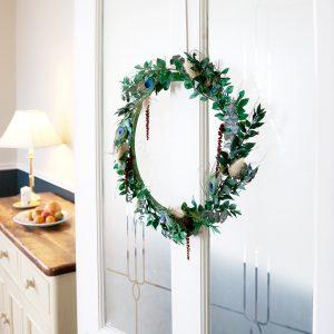 Christmas Door Wreath Noelle