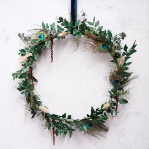 Indoor Christmas Wreath