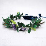 Juno Winter Wedding Flower Crown