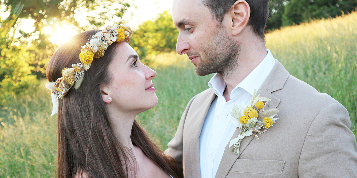 Dried Flower Wedding Accessories Bridal Accessories Buttonholes Flower Crowns