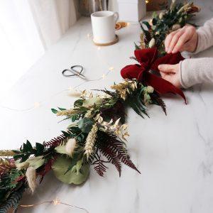 Make a Christmas Garland Craft Kit