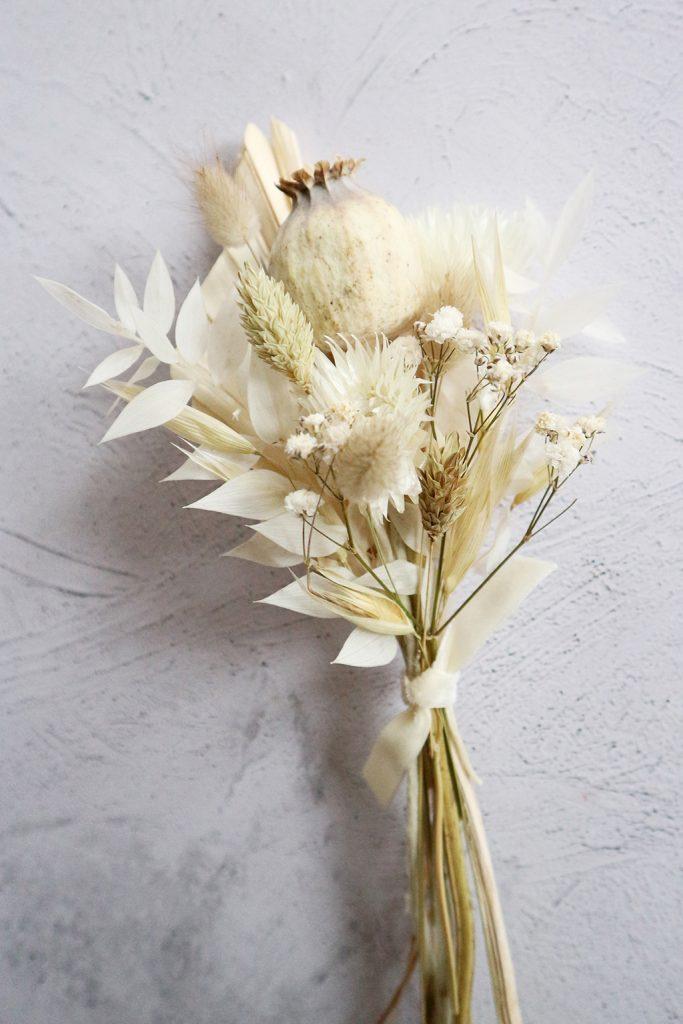 Dried Flower Wedding Styling
