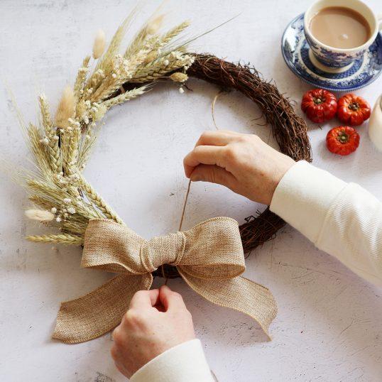 Make An Autumn Wreath Floristry Craft Kit
